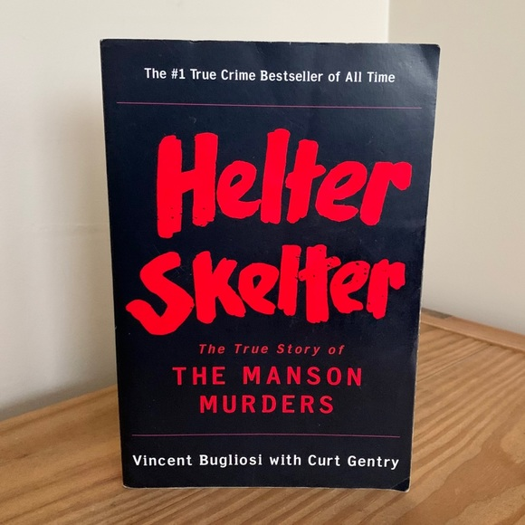 "3/$20 ""Helter Skelter: The Manson Murders"" Book"